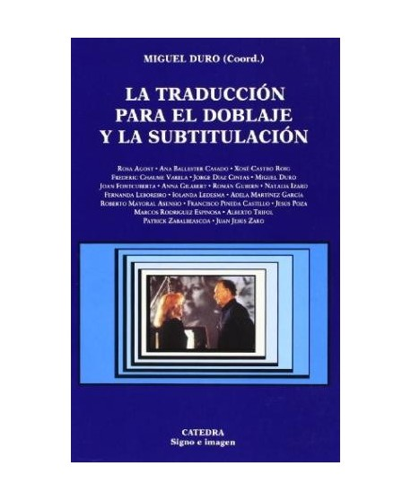 La traducción para el doblaje y la subtitulación