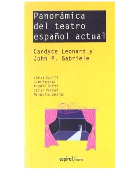 Panorámica del teatro español actual