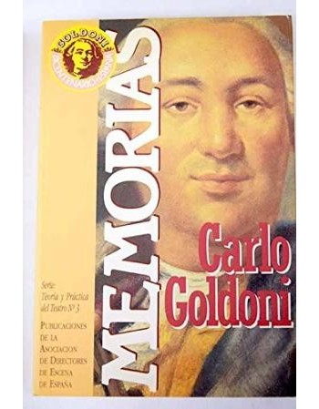 Memorias. Carlo Goldoni