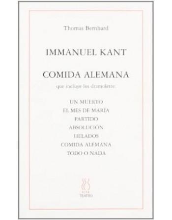 Immanuel Kant / Comida alemana