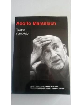 Adolfo Marsillach. Teatro...