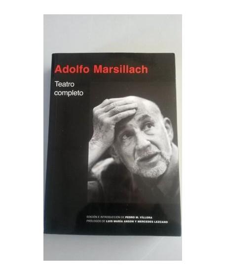 Adolfo Marsillach. Teatro completo
