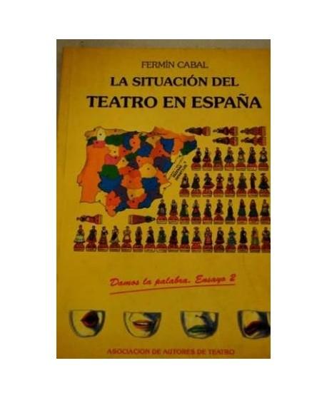 La situación del teatro en España