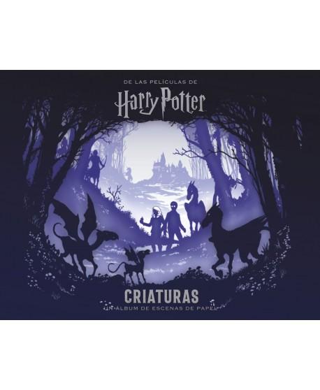 Criaturas. Un álbum de escenas de papel de las películas de Harry Potter