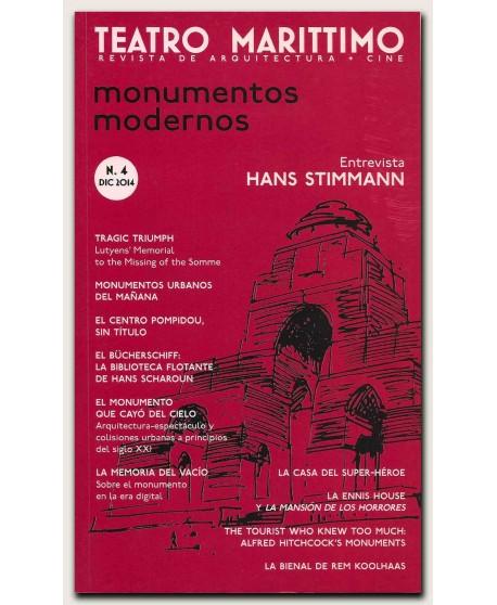 Teatro Marítimo. Revista de arquitectura + cine Nº 4. Monumentos modernos