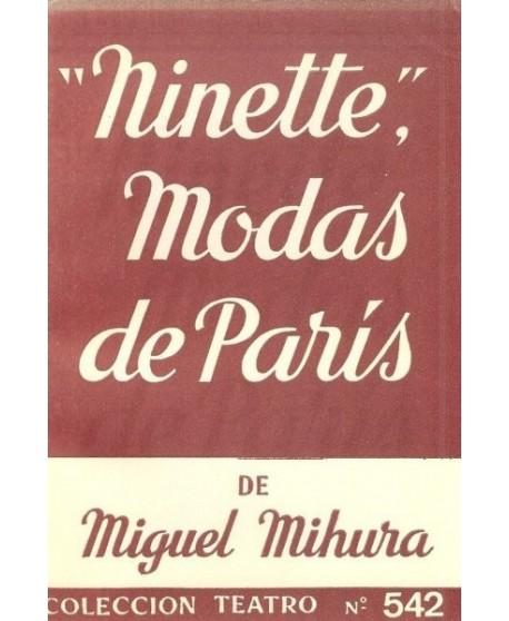 """Ninette"", (modas de París)"