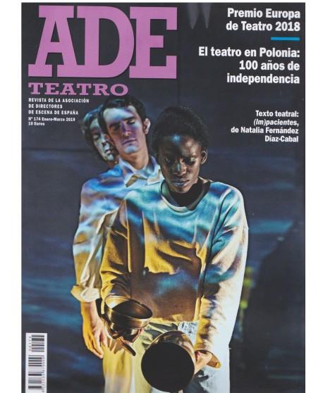 Revista ADE teatro 174 Enero-Marzo 2019