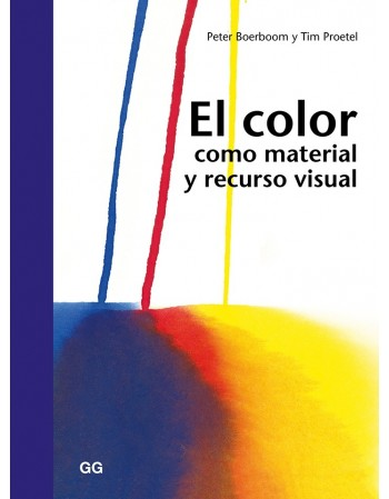 El color como material y...