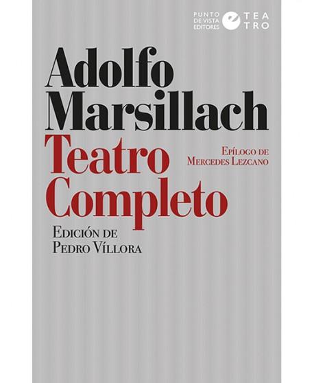 Teatro completo de Adolfo Marsillach
