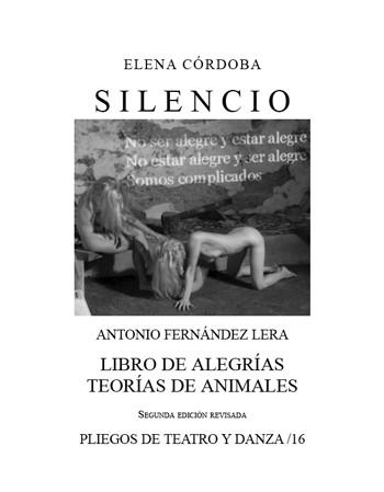 Silencio / Libro de...