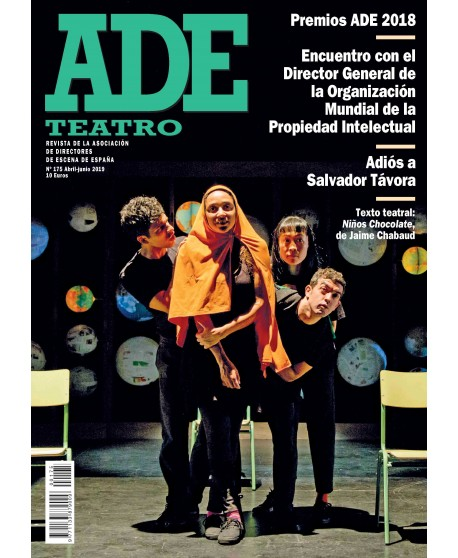 Revista Ade 175. Abril- Junio 2019. Texto teatral: Niños chocolate, de Jaime Chabaud