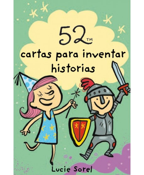 Baraja 52 cartas para inventar historias