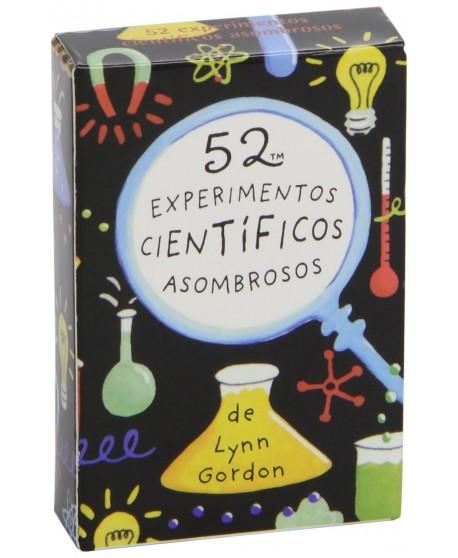 Baraja 52 experimentos científicos asombrosos