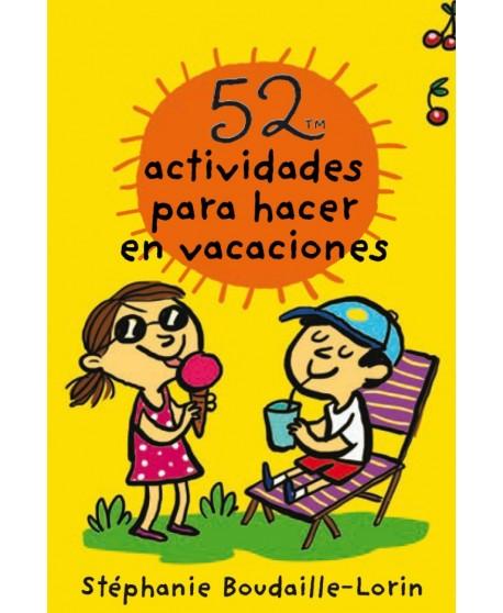 Baraja 52 actividades para hacer en vacaciones