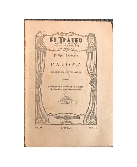 Paloma. N 130 (sin tapa)