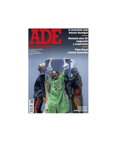 Revista Ade 176. Julio-septiembre 2019. Texto teatral: Compromiso, de Philippe Claudel