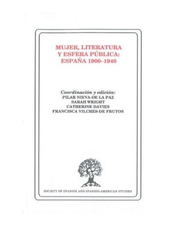 Mujer, literatura y esfera...