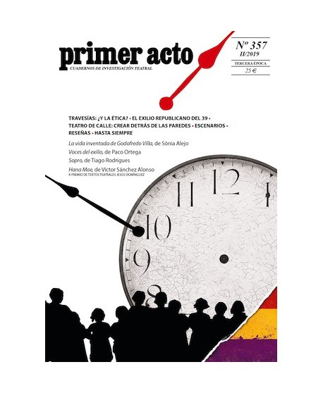 Primer Acto 357. La vida inventada de Godofredo Villa (Sònia Alejo) Voces del exilio (Paco Ortega) Sopro (Tiago Rodrigues)