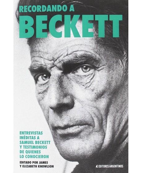Recordando a Beckett