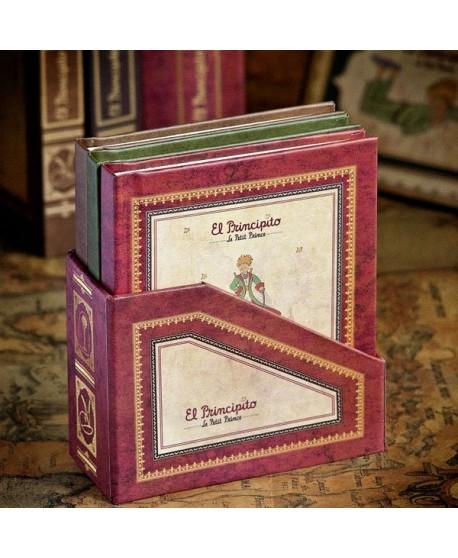 Set mini libretas con caja. El Principito