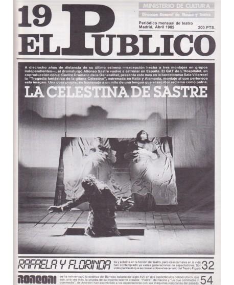 El Público. Periódico mensual de teatro. Abril 1985. Nº 19