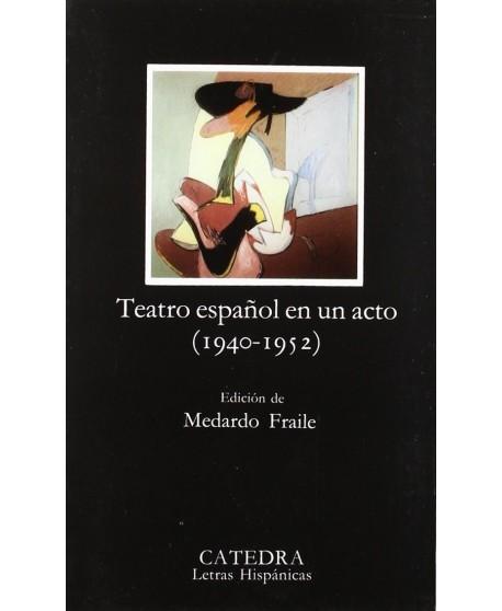 Teatro español en un acto (1940-1952)