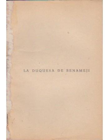 La duquesa de Benameji