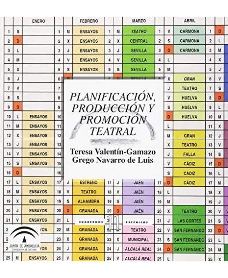 Planificación, producción y promoción teatral
