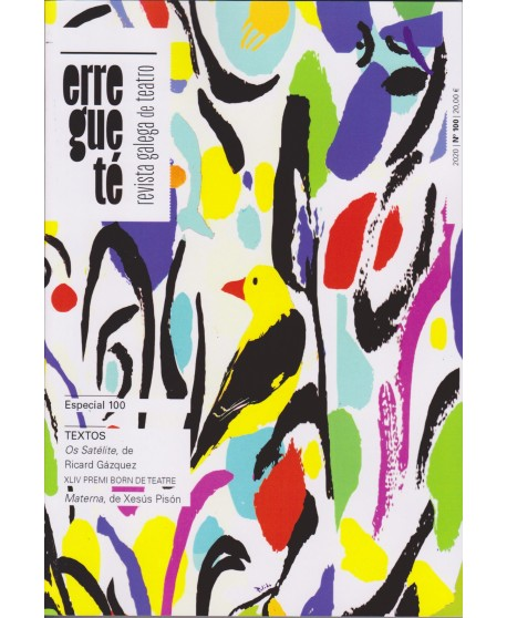 Revista galega de teatro 100. Texto: Os satélite, de Ricard Gázquez