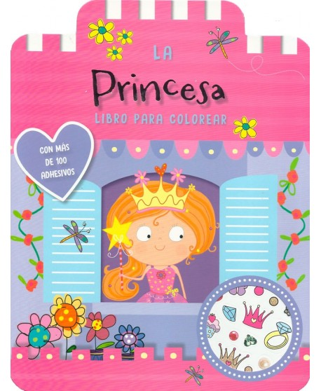 La princesa. Libro para colorear