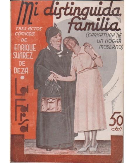 Mi distinguida familia (Caricatura de un hogar moderno)
