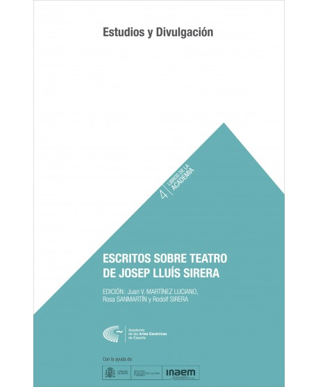 Escritos sobre teatro de Josep Lluís Sirera