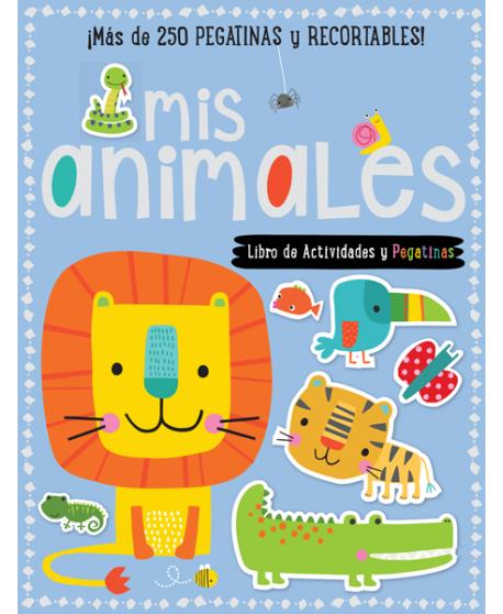 Mis animales. Libro de actividades y pegatinas