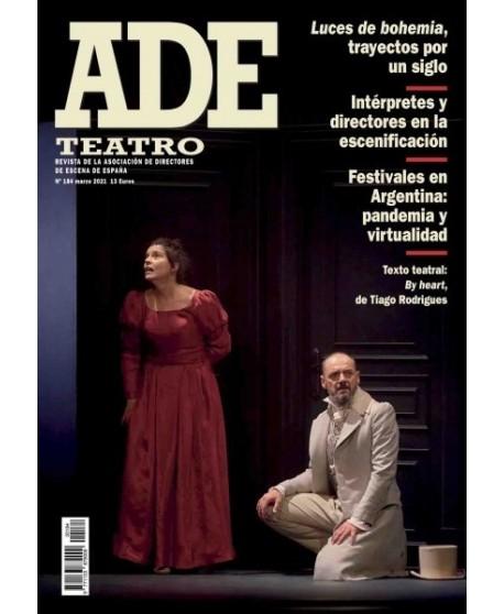 Revista ADE 184 Marzo 2021. Texto teatral: By heart, de Tiago Rodrígues