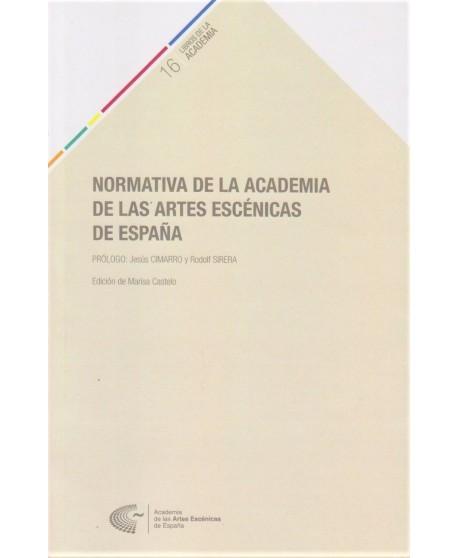 Normativa de la Academia de las Artes Escénicas de España