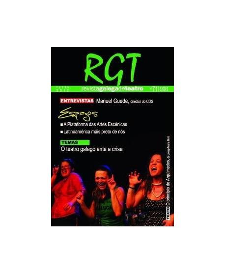 R.G.T. Revista Galega de Teatro nº 71