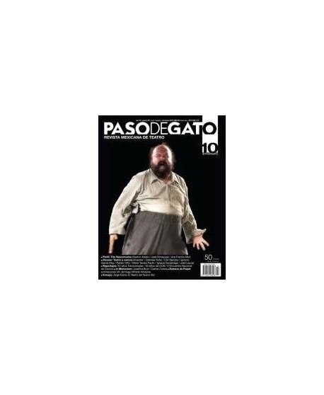 Paso de Gato. Revista mexicana de Teatro nº50