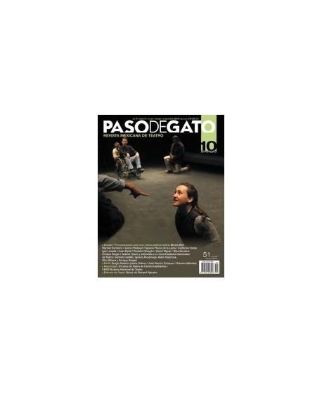 Paso de Gato. Revista mexicana de Teatro nº51