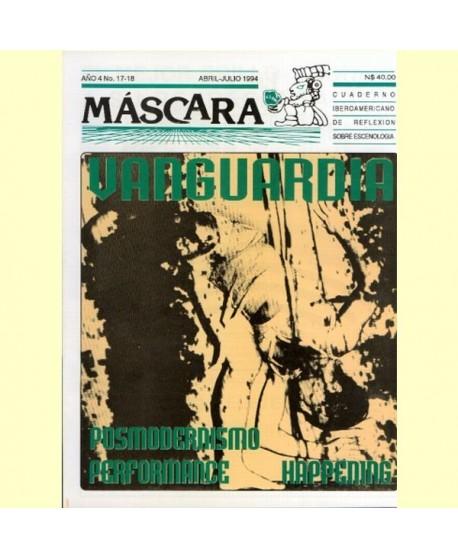 Revista máscara nº 17-18. Posmodernismo. Performance. Happening