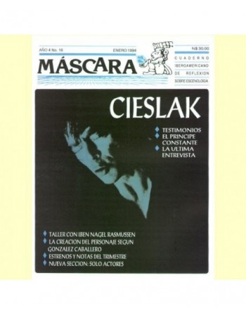 Revista Máscara nº 16