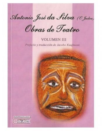 Obras de teatro. Volumen III
