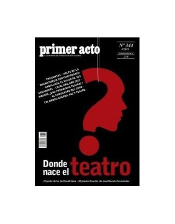 Primer acto 344. I/2013
