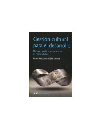 Gestión cultural para el...