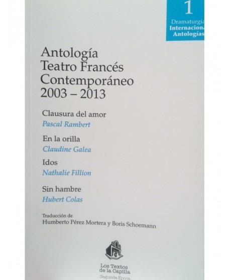 Antología Teatro Francés Contemporáneo (2003-2013)