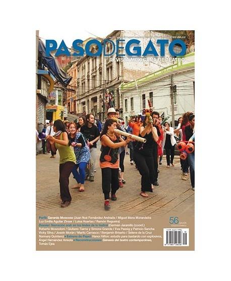 paso de Gato. Revista Mexicana de Teatro nº 56 Enero-Febrero de 2014