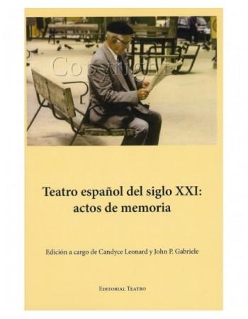 Teatro español del siglo...