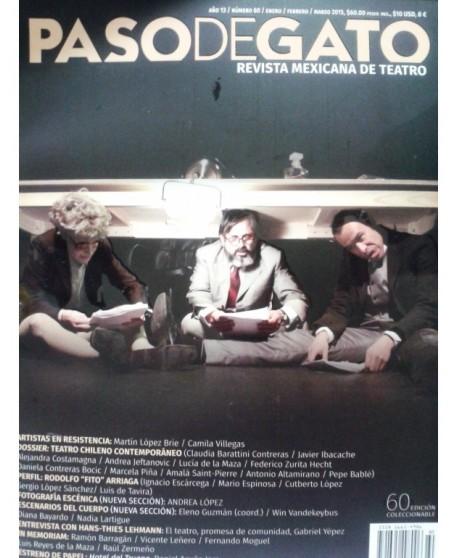 Paso de Gato. Revista mexicana de Teatro nº 60