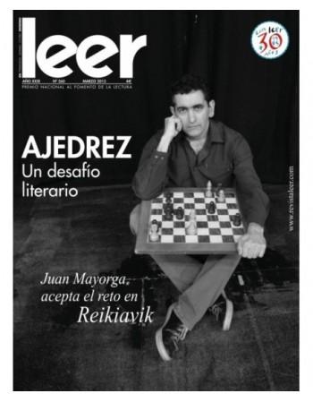 Revista leer. Marzo 2015....