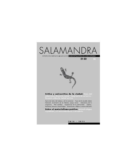 Revista Salamandra nº 21-22