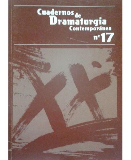 Cuadernos de dramaturgia Contemporánea Nº 17